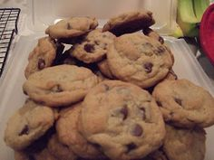 Badger Kitchen: Chocolate Chip Cookies with Flax Seed