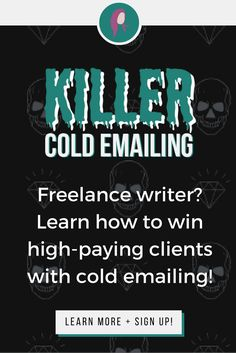 Win high-paying freelance writing clients/jobs (even as a TOTAL newbie) with my foolproof cold emailing strategy! Click to learn more + get started. :) | make money writing online | work from home | freelance writing for beginners | freelance writer | write for money |
