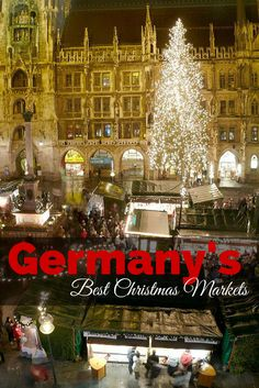 Start planning your winter getaway! Here are Germany's best Christmas Markets near Munich.