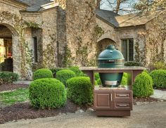 Big Green Egg Cabine