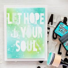 Simon Says Stamp | Masterpiece Box - Large Sentiments Cards. WPlus9 Whimsy Alpha