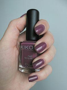 #kiko #KikoMilano #Nailpolish 317 Dark Antique Pink