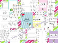 Winter/Snow themed worksheets and activities! :)