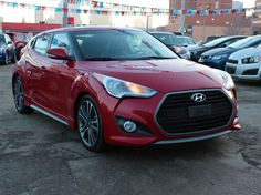 2016 Hyundai Veloster Turbo FULLY LOADED Red, turbo-charged, fully-loaded with low mileage! It's the perfect time for the perfect car. Veloster Turbo, Hyundai Veloster, Used Hyundai, Hyundai Cars, Keyless Entry, Cruise Control, Looking To Buy, Car Ins, Used Cars