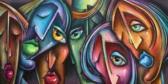 """Face Us 2' by Michael Lang"