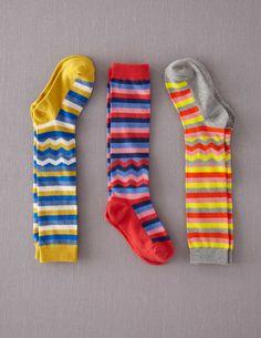 3 Pack Knee Socks