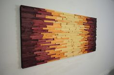 wood wall art  AZTECHIE  wooden wall art  home by StainsAndGrains