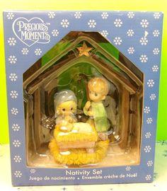 2008 Precious Moments Nativity Set Collectible Christmas Display   | eBay