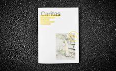 Caritas Kontaktladen - Annual Report by moodley brand identity , via Behance