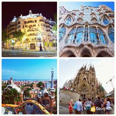 What's your favorite #Gaudí creation? Sagrada Família? Casa Mila? Casa Batlló? Park Güell? #Barcelona www.GowithOh.com