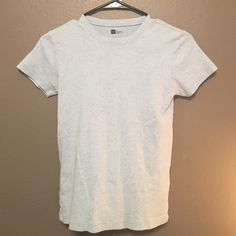 GAP Favorite Tee; no longer fits. Light blue, crew neck tee, fits rather loosely depending on body type. Short sleeves, perfect for summer. GAP Tops Blouses