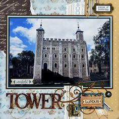 Tower of London - LEFT SIDE - Scrapbook.com