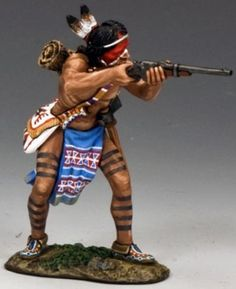Custer's Last Stand TRW044 Little Wolf - Made by King and Country Military Miniatures and Models. Factory made, hand assembled, painted and boxed in a padded decorative box. Excellent gift for the enthusiast.
