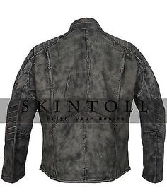Batman Vs Superman Dawn Of Justice Mens Waxed Real Batman Leather Jacket