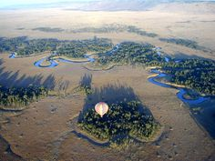 Experience a Hot Air Balloon Ride in Kenya with BelAfrique your personal travel planner - www.BelAfrique.com