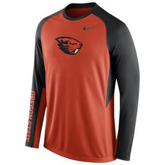 info for 5cd20 7447a Oregon State Beavers Nike Elite Basketball Pre-Game Shootaround Long Sleeve  Dri-FIT Top - Orange
