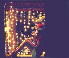 Esperando a chegada do Natal.