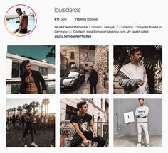 My Influencers: Louis Darcis - Model / Style / Fitness#fashioninfluencer #styleinfluencer #travelinfluencer #fitnessinfluencer #germanstyle #model #blogger #vlogger #myinfluencerblog #louisdarcis