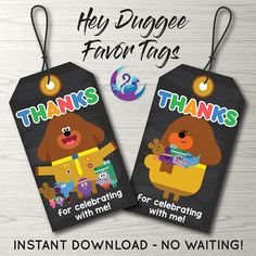 This item is unavailable 2nd Birthday, Birthday Parties, Favor Tags, Your Favorite, Party Favors, Thankful, Party Ideas, Note, Digital
