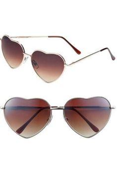 Heart sunglasses! love love love love love