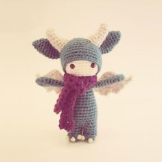 Vote for Zsadist the Daring by Fox in the Snow - http://www.amigurumipatterns.net/designcontest/vote/?id=968 - Zsadist the Daring is from my Little Monsters Collection. He was named after a famous vampire warlord.     Zsadist lives in the underworld with his other monster buddies. He loves going on adventures, flying, and battling with creatures from the underworld. Like the vampire he was named after, he, too, is a daring warrior.