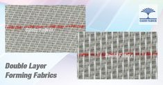 Double Layer Forming Fabrics, Forming Wires For Paper Making, Paper Machine Clothing