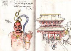 Japan Sketchbook | Tokyo 07 | Juliette Delpech