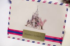 Wedding Invitation - Disneyland Wedding {Sarina Love Photography}