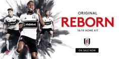 Fulham FC 2018/2019 Home Kit. Fulham Fc, Football Kits, The Originals, Sports, Movie Posters, Retail, Presents, Soccer Kits, Hs Sports