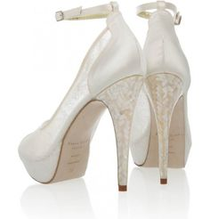 Bridal Shoes By Freya Rose At The Caroline Castigliano Event Freyarose Blog