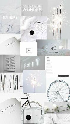 Wallpaper Tumblr Lockscreen, White Wallpaper For Iphone, Iphone Wallpaper Tumblr Aesthetic, Iphone Background Wallpaper, Retro Wallpaper, Aesthetic Pastel Wallpaper, Trendy Wallpaper, Pretty Wallpapers, Galaxy Wallpaper