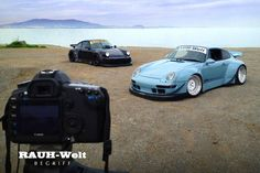 Which Rauh-Welt Begriff RWB Porsche would you choose?We're a little partial to the eGarage version. Porsche Wheels, Porsche Cars, Nick Walker, Rauh Welt, Custom Wheels, Dream Garage, Car Manufacturers, Vroom Vroom, Vehicles