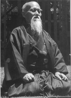 O-Sensei, Morihei Ueshiba
