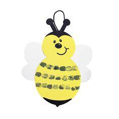 Thumbprint Bumblebee Craft Kit - OrientalTrading.com