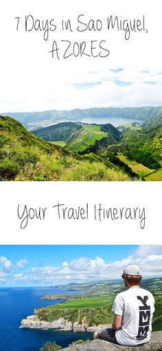 """The #Azores❤️. What a beautiful spot on earth! Have you visited these Portuguese islands in Europe yet? If your answer is """"No, but I'd love to go"""" or """"No, but Sonja and Jerry, I just bought the flight ticket, aaaaaa!"""", then we might have something that will help you plan your trip: ta-ta it's your Sao Miguel 7-day #itinerary. #saomiguel"""