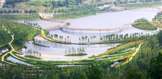 In 2009, Turenscape was commissioned by the Liupanshui Municipal Government to working on the planning and design of the ecological security...