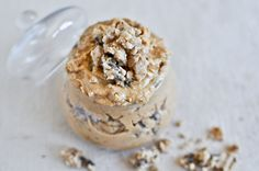 Chocolate Chip Cookie Dough Peanut Butter.... seriously hook me up! http://www.howsweeteats.com/2012/04/a-quick-and-easy-treat-chocolate-chip-cookie-dough-peanut-butter/?utm_source=feedburner_medium=email_campaign=Feed%3A+howsweeteats%2FsmSp+%28How+Sweet+It+Is%29
