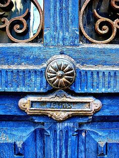 The French Tangerine: ~ colorful doors