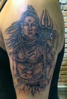 Dr.Raghav lumb got Best lord Shiva tattoo in the world,