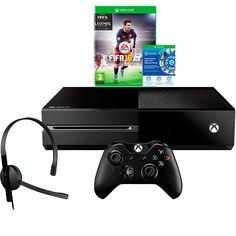[SUBMARINO] Xbox One 1 TB bundle Fifa 16 - R$1.399 no C.Sub
