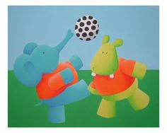Play Soccer Photographic Print by Astrid Wielinga-van Zwol at Art.com