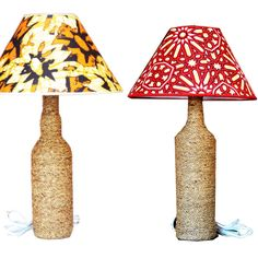 Wonderful hand made Table Lamp by Mitimeth now available at www.nuerasamp.com.