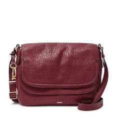 Hit the (style) mark with Peyton, a beautiful companion that shoulders all your essentials while you adventure around town. Featuring a double flap with snap closure and expandable gussets, Peyton's wine leather has storage and functionality while maintaining a chic silhouette. Get (tech) smart—this product is compatible with the iPad® mini.*Will be shipped separately from other products