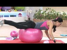 Ebru Şallı İle Pilates Egzersizleri 10.Bölüm - YouTube