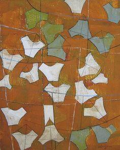 Kites That Try But Do Not Fly www.heatherbentz.com #arttomakeyouhappy Art for home, art for office by contemporary artist Heather Bentz #heatherbentzart #originalart #contemporaryart #acryliconpanel #goldenacrylic