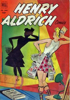 Vintage comic book, Henry Aldrich. Learn about your collectibles, antiques, valuables, and vintage items from licensed appraisers, auctioneers, and experts.  http://www.bluevaultsecure.com/roadshow-events.php