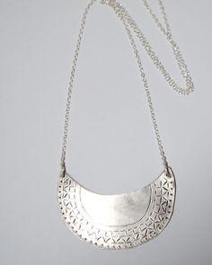 Silver Mor-rockin Necklace