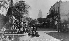 California History - Los Angeles - Olvera Street