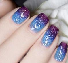 Lak na nehty modro-fialový 6ml - lak na nehtyPošta Zdarma