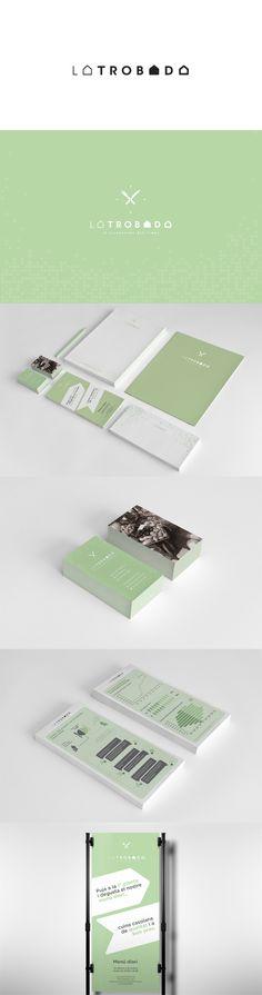 La Trobada, el restaurant del temps #branding #logotype #terrassa #bakoom | #stationary #corporate #design #corporatedesign #identity #branding #marketing < repinned by www.BlickeDeeler.de | Take a look at www.LogoGestaltung-Hamburg.de